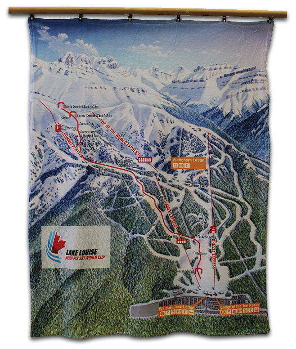 Lake Louise World Cup Kanata Blanket
