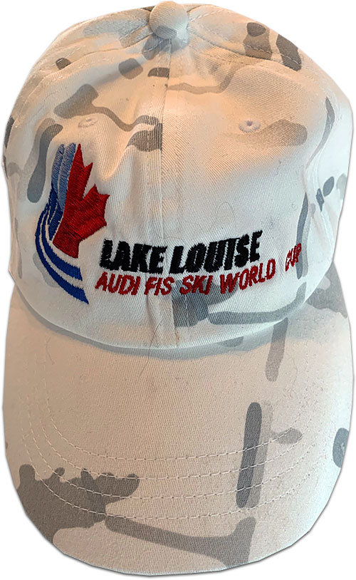 Lake Louise Audi FIS Ski World Cup Camo Hat