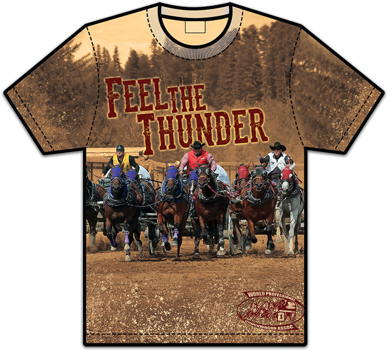 Feel the Thunder T-Shirt Front