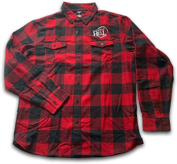WPCA Mens and Ladies Plaid Flannel Shirt