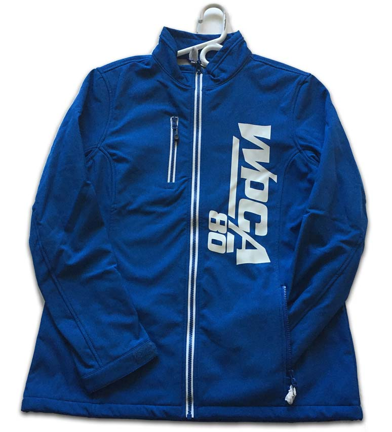 Ladies WPCA 80 Soft Shell Jacket Blue